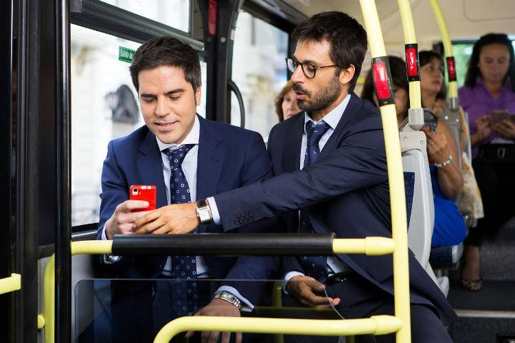 Ernesto Sevilla y Hugo Silva