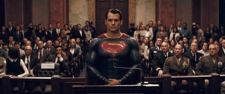 Henry Cavill en Batman V Superman: La liga de la justicia