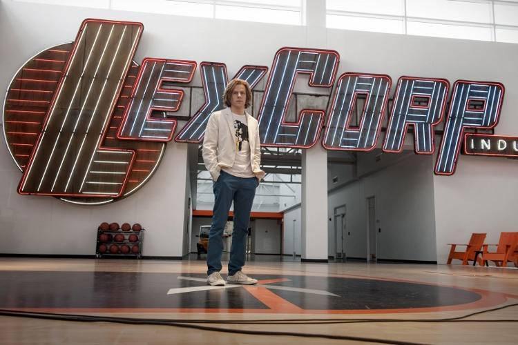 Jesse Eisenberg es Lex Luthor