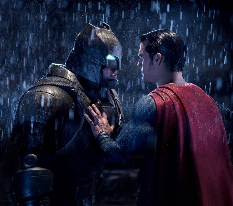 Henry Cavill y Ben Affleck, Superman v Batman