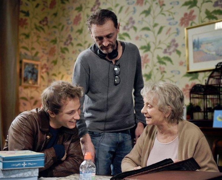 Mathieu Spinosi, El director Jean-Paul Rouve y Annie Cordy