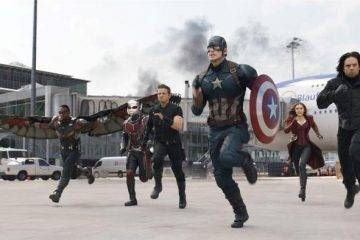 Anthony Mackie, Chris Evans, Elizabeth Olsen, Jeremy Renner, Paul Rudd