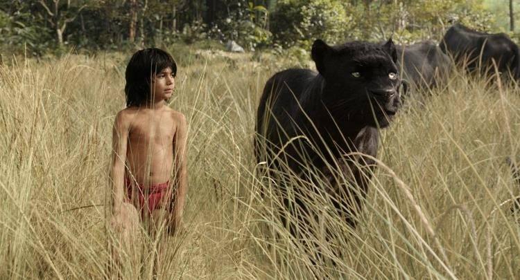 Mowgli y Bagheera