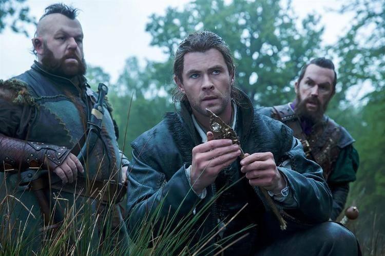 Chris Hemsworth, Nick Frost, Rob Brydon