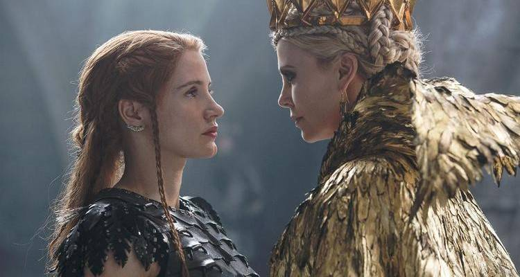 Charlize Theron, Jessica Chastain
