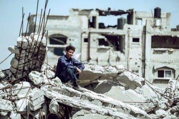 Tawfeek Barhom en una foto de la película