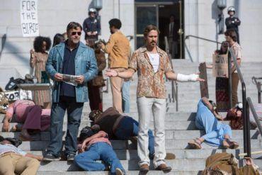Russel Crowe y Ryan Gosling en una imagen de la película