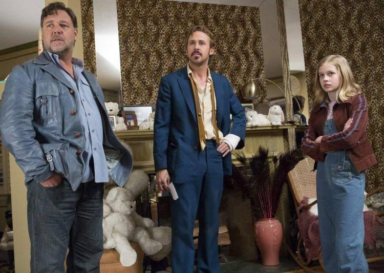 Russel Crowe, Ryan Gosling y Angourie Rice