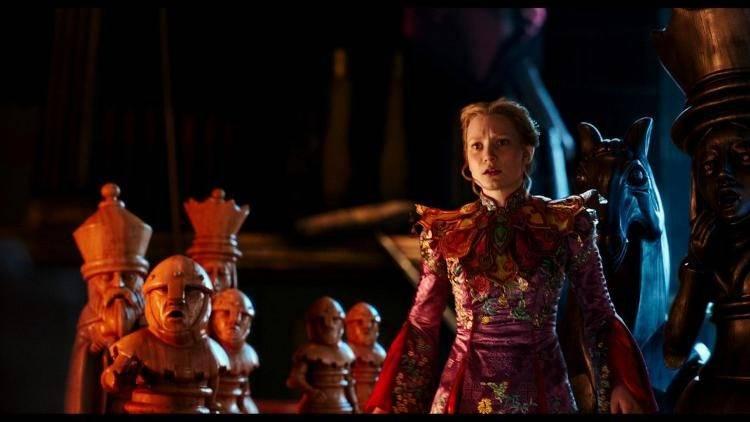 Mia Wasikowska en una escena de la película