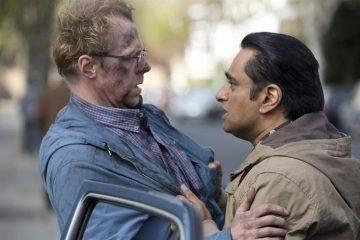 Sanjeev Bhaskar y Simon Pegg