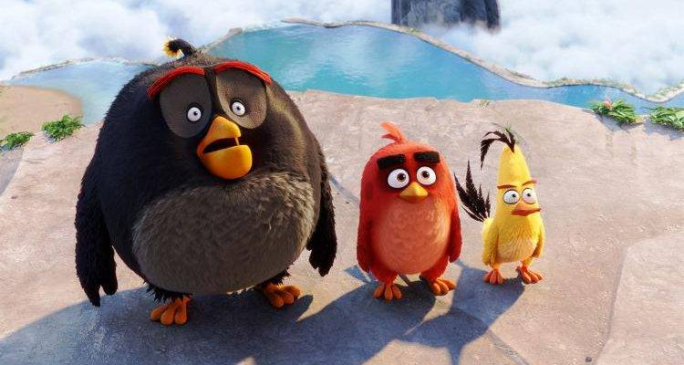 Los Angry Birds: Chuck, Red y Bomb