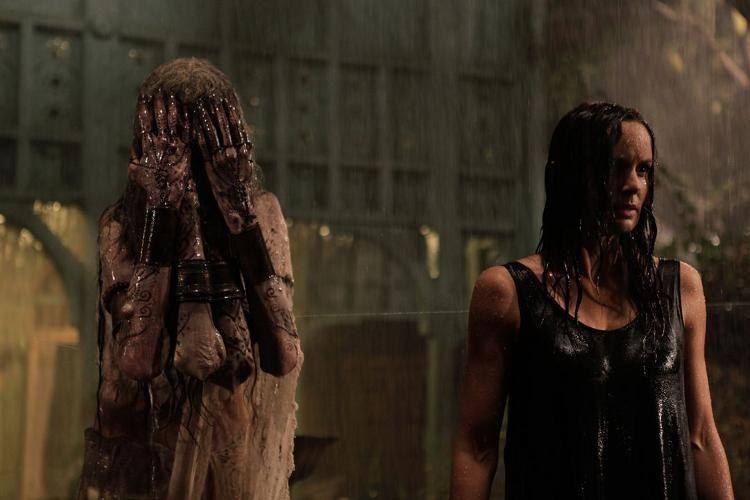 Imagen de la película El otro lado de la puerta