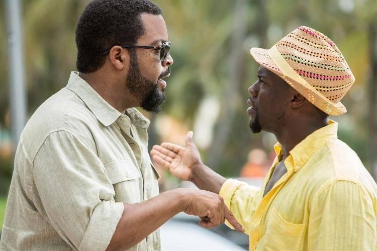 Ice Cube y Kevin Hart en sus personajes - Crítica Infiltrados en Miami