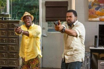Kevin Hart e Ice Cube en la película