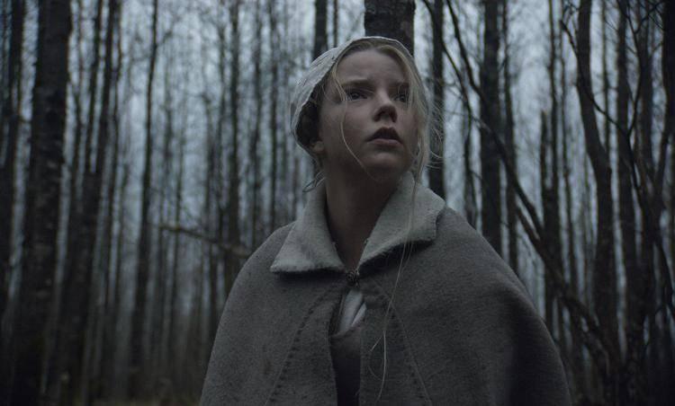 Anya Taylor-Joy en una escena de La bruja