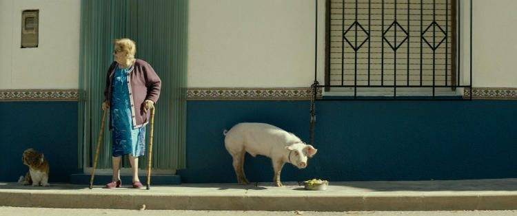 Una imagen de la película de Pozoamargo