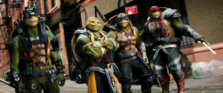 Leonardo, Raphael, Michelangelo y Donatello