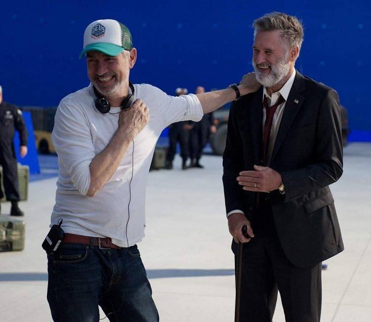 El director Roland Emmerich y Bill Pullman