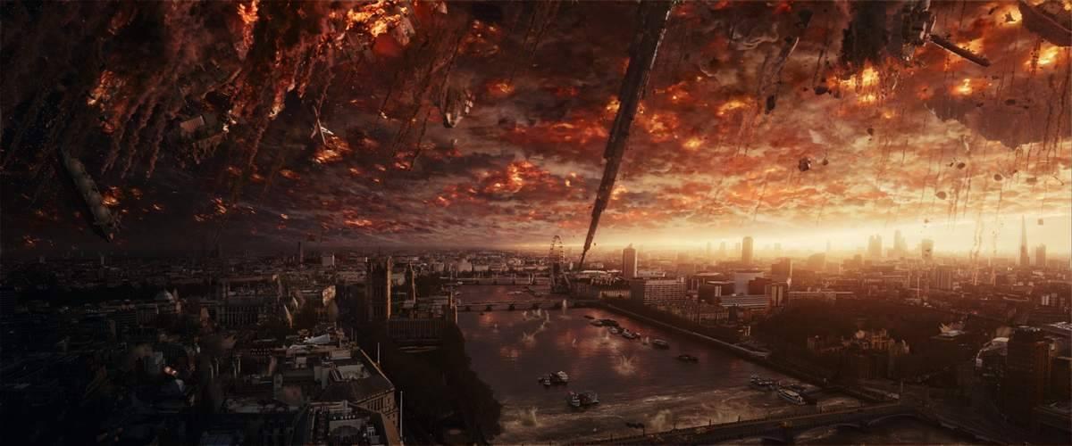 La Tierra vuelve ser atacada por los alienígenas