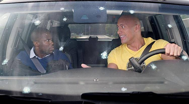 Dwayne Johnson, Kevin Hart