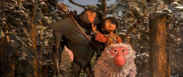 Kubo, Mona y Escarabajo