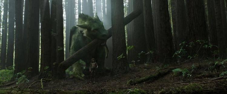 Un dragón en pleno bosque