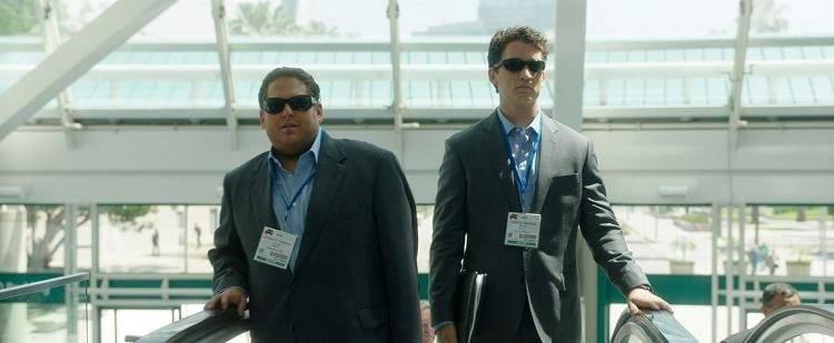 Jonah Hill y Miles Teller en una escena de la película