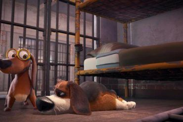 Ozzy con sus compañeros de celda.