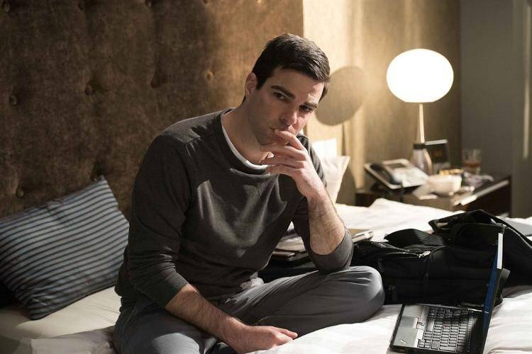 Zachary Quinto interpreta al abogado constitucionalista estadounidense Glenn Greenwald