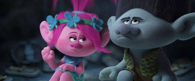 Completamente opuestos pero amigos, Poppy y Branch