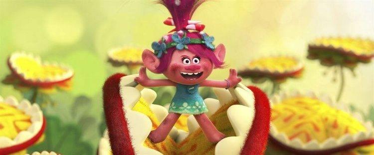 Poppy, la más alegre de Los Trolls