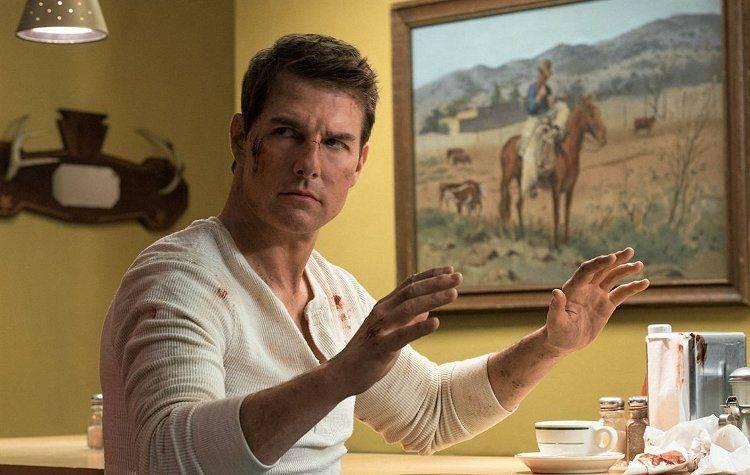 Tom Cruise en una anodina escena de Jack Reacher: Nunva Vuelvas atrás