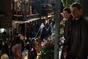 Smulders y Tom Cruise en una escena de la película Jack Reacher: Nunca vuelvas atrás