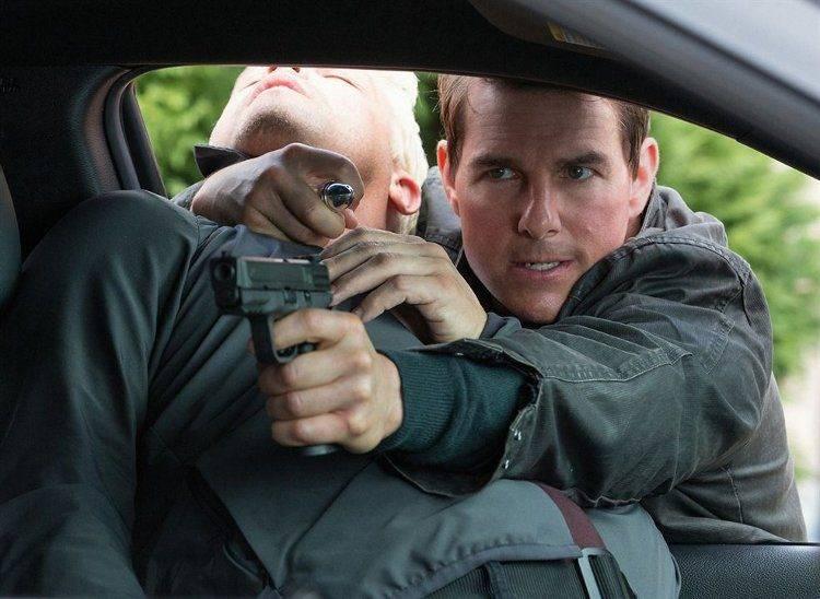 Tom Cruise en una de las dos escenas que conservan el espíritu original de la saga