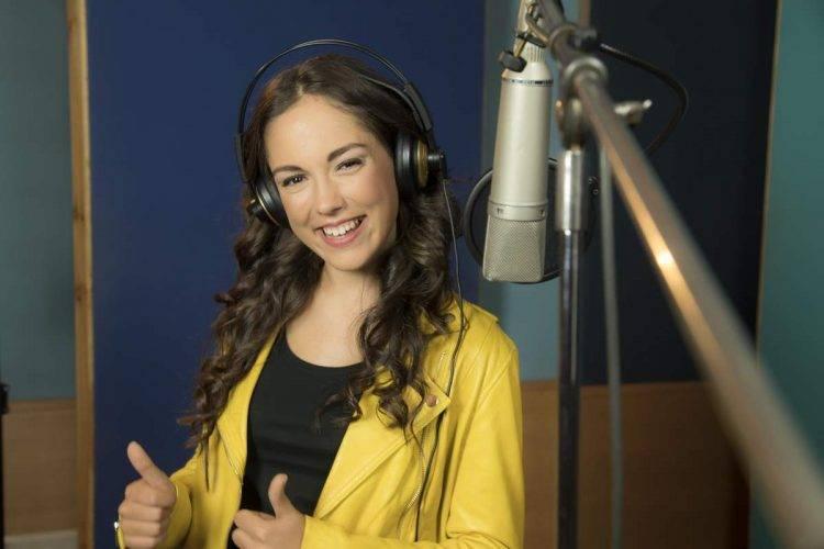 Maria Parrado Canta La Canción de Vaiana