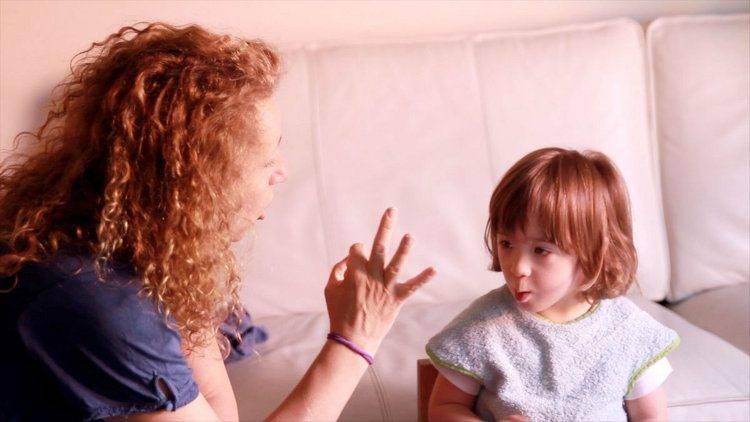 Jan aprende los números con su madre