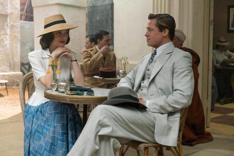 Brad Pitt y Marion Cotillard son 'Aliados'