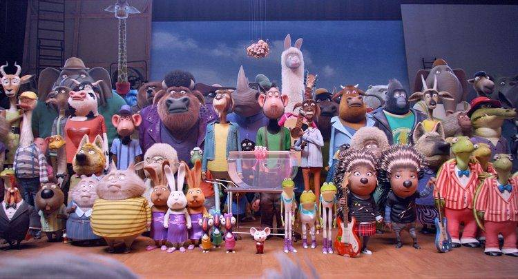 Toda la familia de '¡Canta!' al completo
