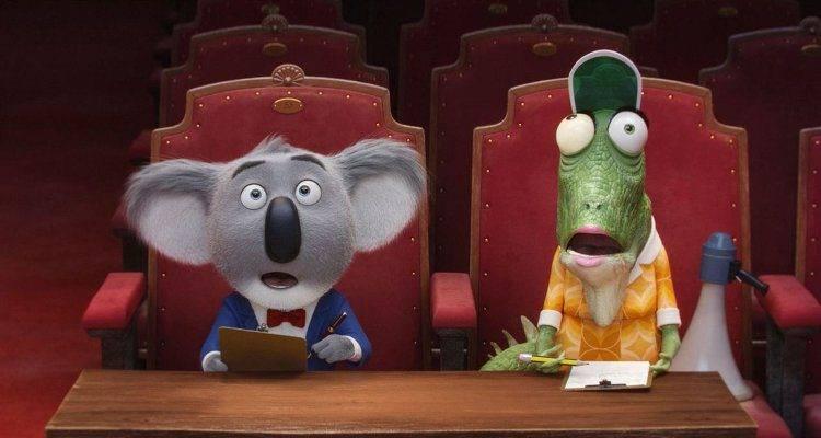 Buster Moon y Nana son el jurado de este casting