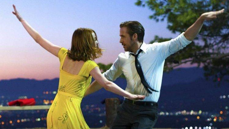 Ryan Gosling y Emma Stone en la nominada 'La La Land'
