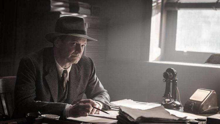 Colin Firth es el editor Max Perkins
