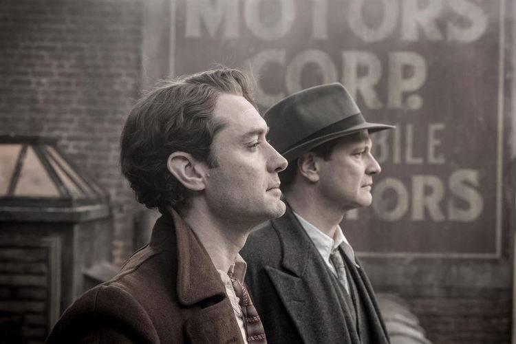 Colin Firth y Jude Law sobre el editor Max Perkins