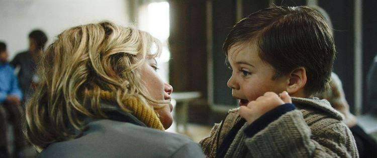 Liliana se despide de su hijo en la cárcel