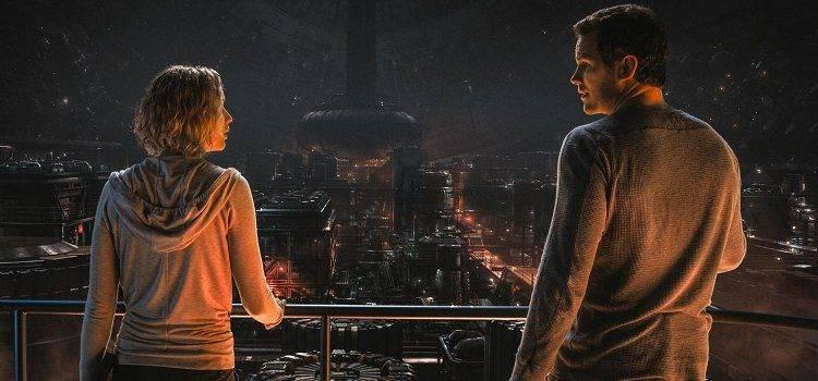 Chris Pratt y Jennifer Lawrence protagonizan Passengers