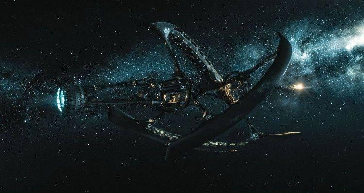Ávalon, la nave en la que viajan los protagonistas