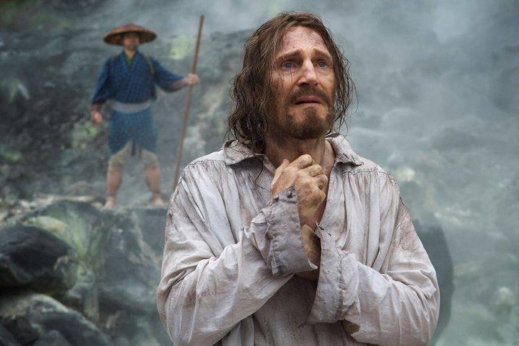 Liam Neeson en Silencio