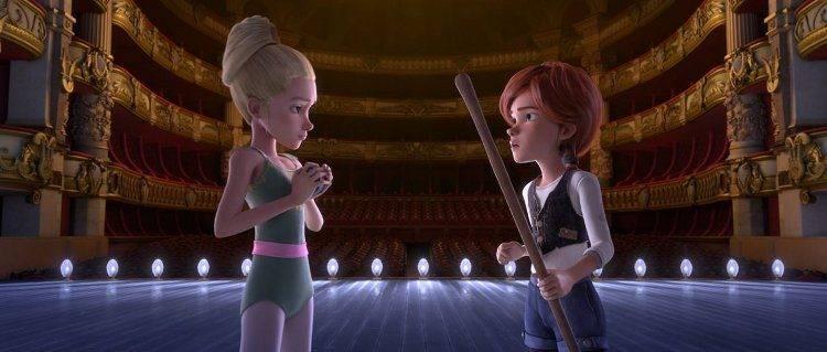 Maddie Ziegler, la niña protagonista de los videocliops de SIA, pone voz a Calille Le Haut (Izquierda), el personaje antagonista de la película
