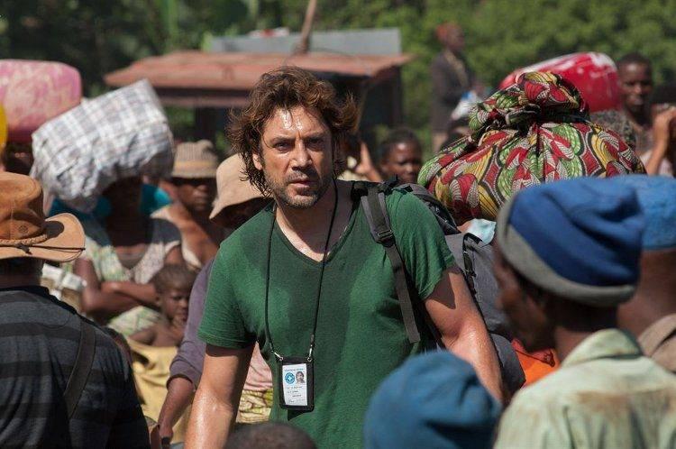Javier Bardem es un médico humanitario en África
