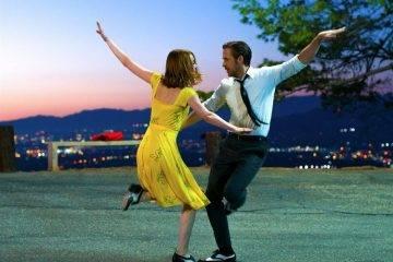 Ryan Goslin y Emma Stone, en uno de los momentos musicales de La la land