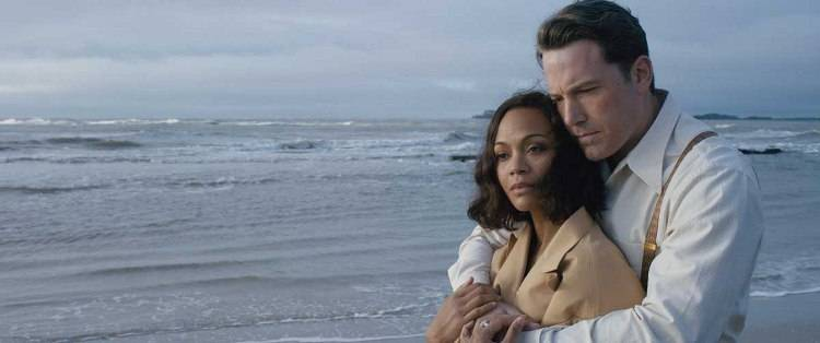 Ben Affleck y Zoe Saldana son pareja en la película